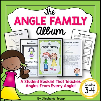Types of Angles and Measuring Angles Activity Book