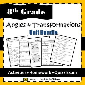 Angles & Transformations Bundle