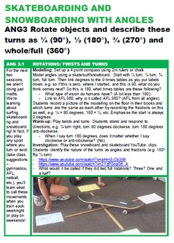 Angles & Transformations Unit with 30+ Lessons: Grades 2 3 4 5 & 6