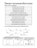 Angles & Triangles Study Guide