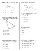 Angles & Triangles Test