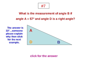 Angles, Triangles and Polygons