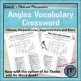 Angles Vocabulary Crossword Puzzle