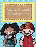 Angles and Angle Relationships