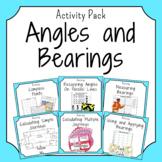 Angles and Bearings Activity Bundle