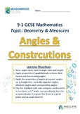 Angles and Constuctions