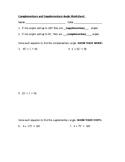 Angles and Equations