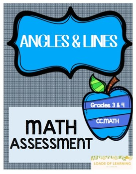 Angles and Lines Assessment