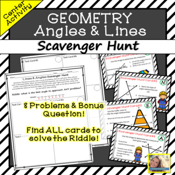 Lines and Angles Activity