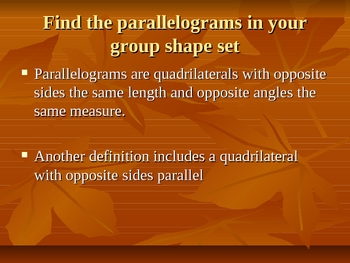 Angles and Lines Powerpoint
