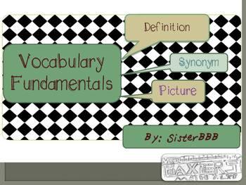 Vocabulary Fundamentals