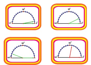Angles and Measurement Card Game