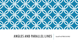 Angles and Parallel Lines Notes