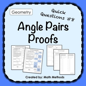 Angles and Proof Activity: Fix Common Mistakes!