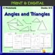 Angles and Shapes Worksheet Bundle - 9 worksheets - Basic Geometry - 4th & 5th