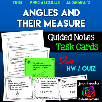 Angles and Their Measure  PreCalculus Trigonometry