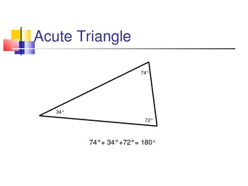 Angles and Triangles Notes Powerpoint