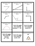 Angles and Triangles Quiz Quiz Trade