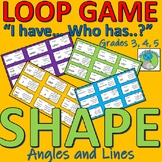 Angles and lines, missing angles, classification of... Loop Game (SHAPE)