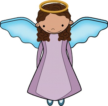 Angles are not Angels Anchor Chart with clip art