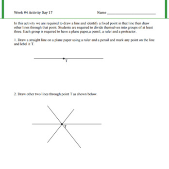 Angles at A Point Lesson Plan G.CO.A.1