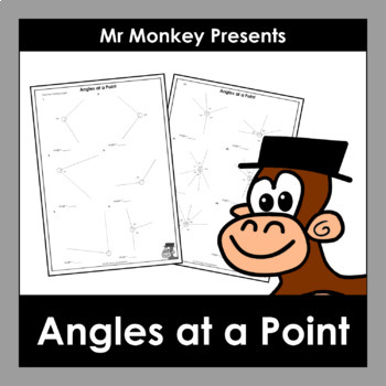 Angles at a Point Worksheets