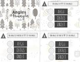 Angles et triangles - 3e cycle - Cartes à tâches