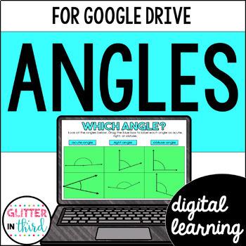 Angles for Google Classroom DIGITAL