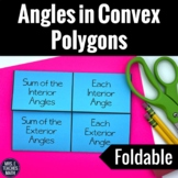 Angles in Polygons Interactive Foldable