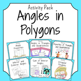 Angles in Polygons Activities Bundle