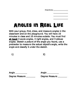 Angles in Real Life