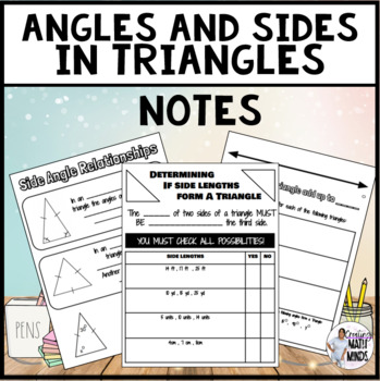 Angles in Triangle Notes
