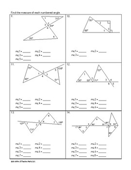 Angles in Triangles Lesson