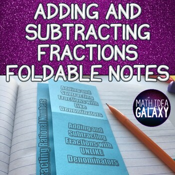 Angles in a Triangle - Foldable Notes