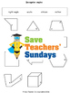 Angles in shapes lesson plans, worksheets and more