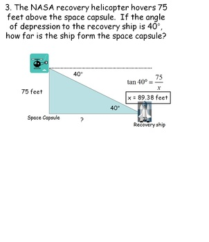 Angles of Elevation and Depression: Real Life Applications of Trigonometry