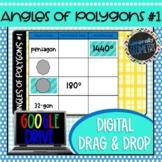 Angles of Polygons #1 Digital Drag & Drop; Google Drive