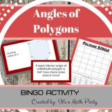 Angles of Polygons - BINGO Activity