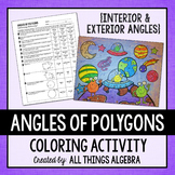 Angles of Polygons Coloring Activity