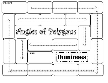 Angles of Polygons Dominoes