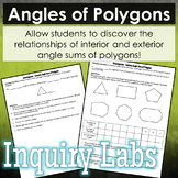 Angles of Polygons Inquiry Lab