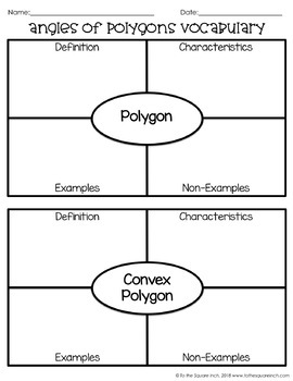 Angles of Polygons Notes