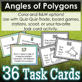 Angles of Polygons Task Cards