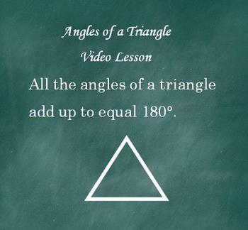Angles of Triangle 180 Common Core Math Video