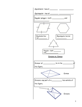 Angles of Triangles and Polygons