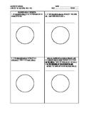 Angles of a Circle Notes Worksheet- Inscribed, Interior, &