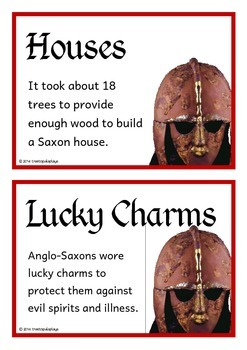Anglo-Saxons Fact Cards