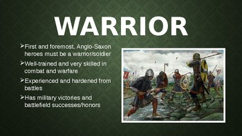 Anglo-Saxon Hero PowerPoint Presentation