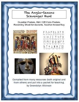 Anglo-Saxon Introduction Scavenger Hunt
