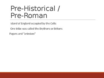 Anglo Saxon Powerpoint